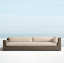 Biscayne Luxe Four-Seat Left/Right-Arm Return Sofa Cushions