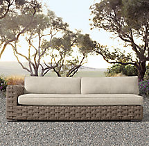 Rutherford Three-Seat Left/Right-Arm Sofa Cushions