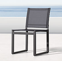 Aegean Aluminum Side Chair