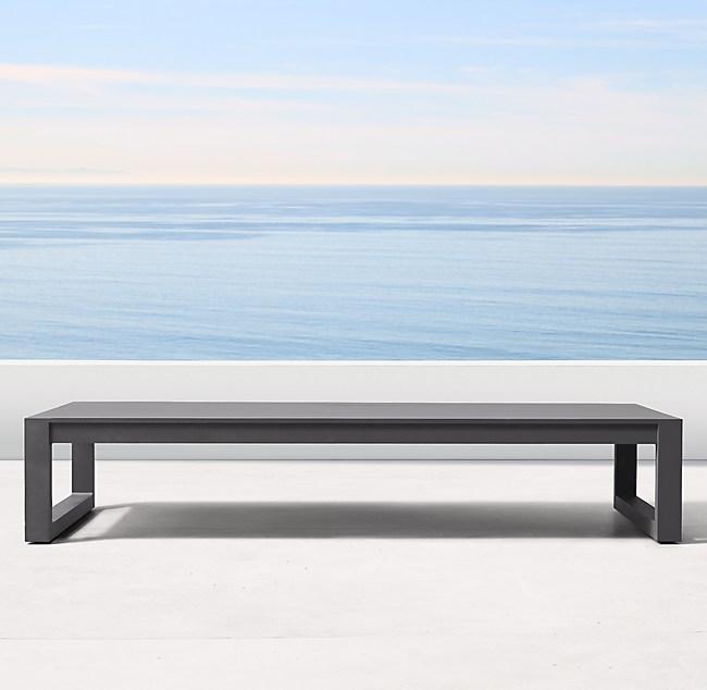 Astonishing Aegean Aluminum Coffee Table Machost Co Dining Chair Design Ideas Machostcouk