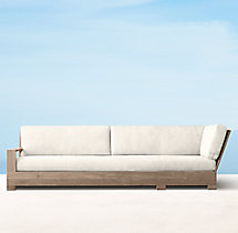 Belvedere Classic Four-Seat Left/Right-Arm Return Sofa Cushions