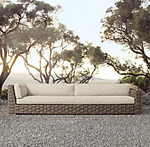 Rutherford Four-Seat Right-Arm Return Sofa