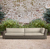 Provence Classic Left-Arm Return Four-Seat Sofa