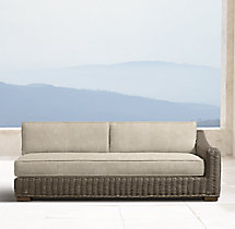 Provence Classic Three-Seat Right-Arm Sofa