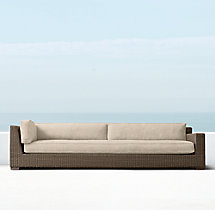 Biscayne Luxe Four-Seat Right-Arm Return Sofa