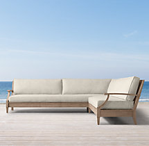 Santa Monica Luxe Left/Right-Arm L-Sectional Cushions