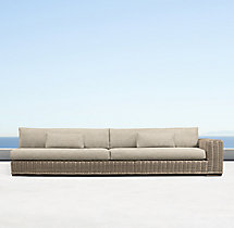 Majorca Luxe Three-Seat Right-Arm Sofa