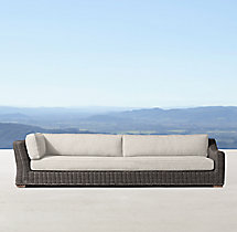 Provence Classic Four-Seat Right-Arm Return Sofa
