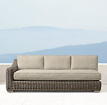 Provence Luxe Three-Seat Left-Arm Sofa