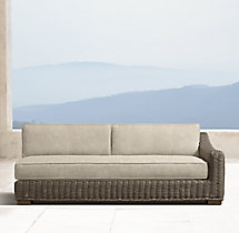 Provence Luxe Three-Seat Right-Arm Sofa
