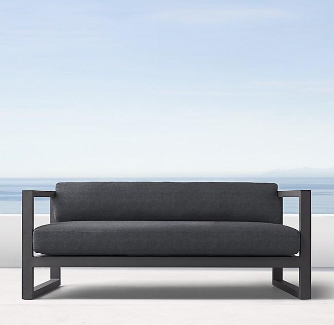 64 Aegean Aluminum Sofa Cushions