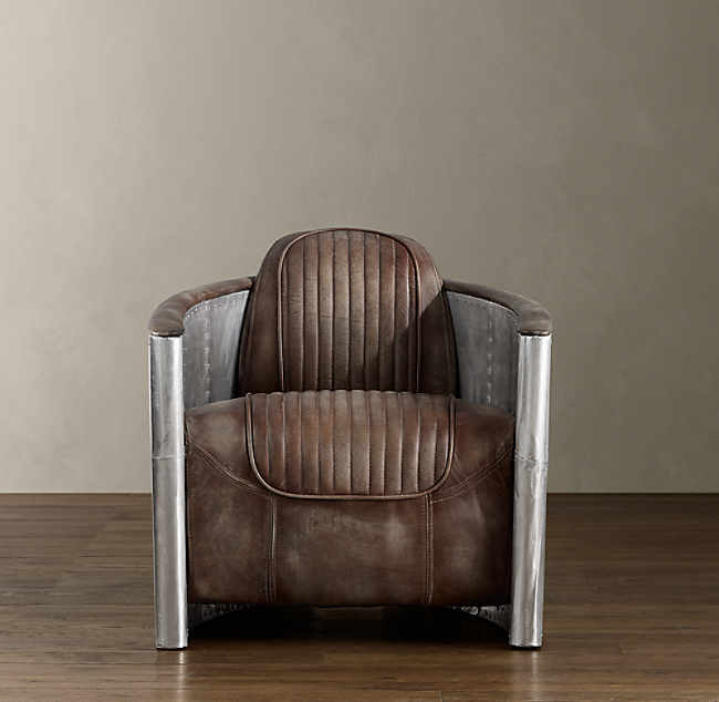 curves off aerodynamic aluminium fighter furniture restoration swivel exposed inspired this piece accented wrapped aviator is stunning with world chair chairs of screws the a knock hardware by in are planes war