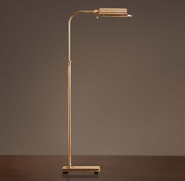 Writers task floor lamp