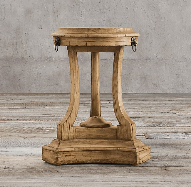 18th C Lion S Head Side Table