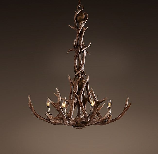 Antler chandelier adirondack antler chandelier aloadofball Gallery
