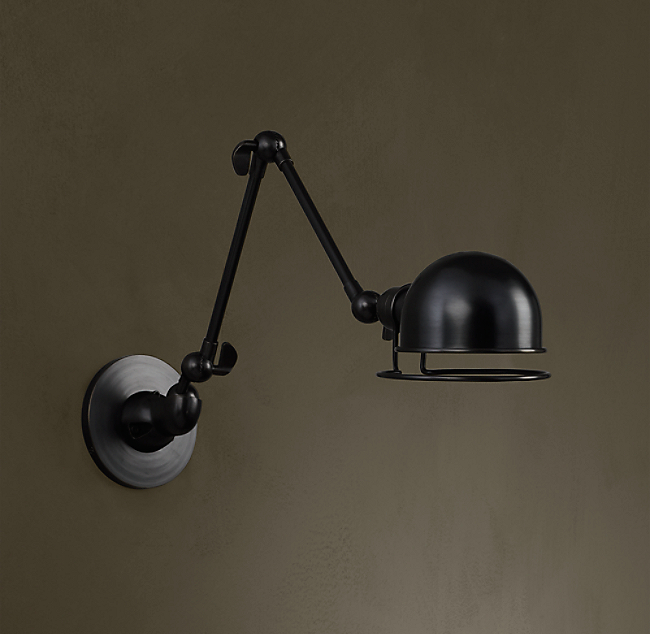 Atelier swing arm wall sconce color preview unavailable