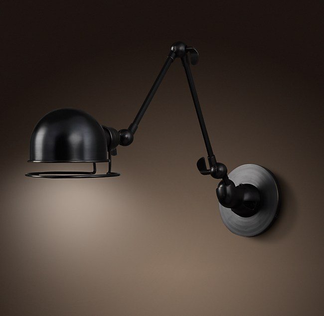 made a g wall com and matt black antique light oglivy brass static arm ogilvy lamp swing o in