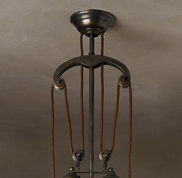 cartesian pulley single pendant. Black Bedroom Furniture Sets. Home Design Ideas