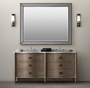 96 inch double vanity. Empire Rosette Double Vanity All Vanities  Sinks RH