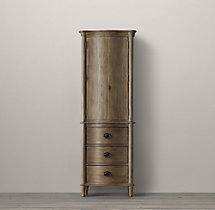 Empire Rosette Medium Bath Cabinet