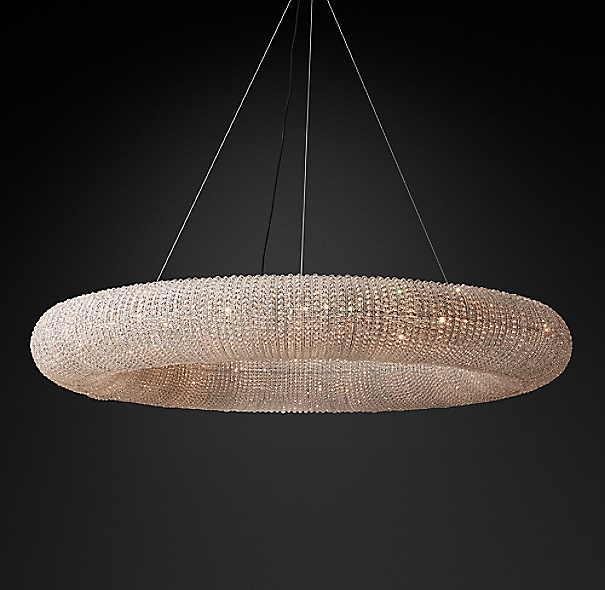 Crystal Halo Chandelier 72 Quot