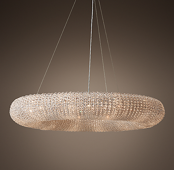 Crystal Halo Chandelier 41 Quot