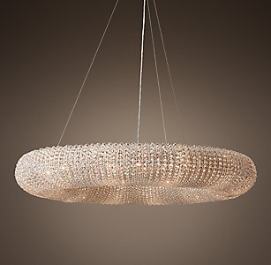 Crystal Halo Chandelier Collection