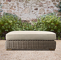 Provence Luxe Coffee Table Ottoman Cushion