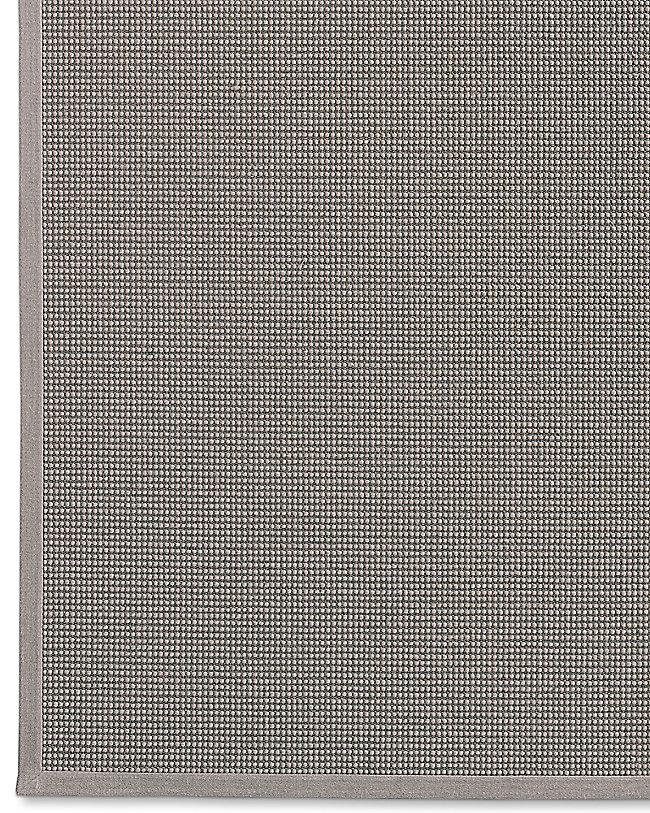 Belgian Looped Wool Sisal Rug Fog