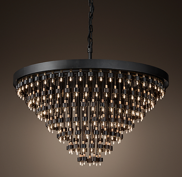 Cosmos 7 Ring Chandelier