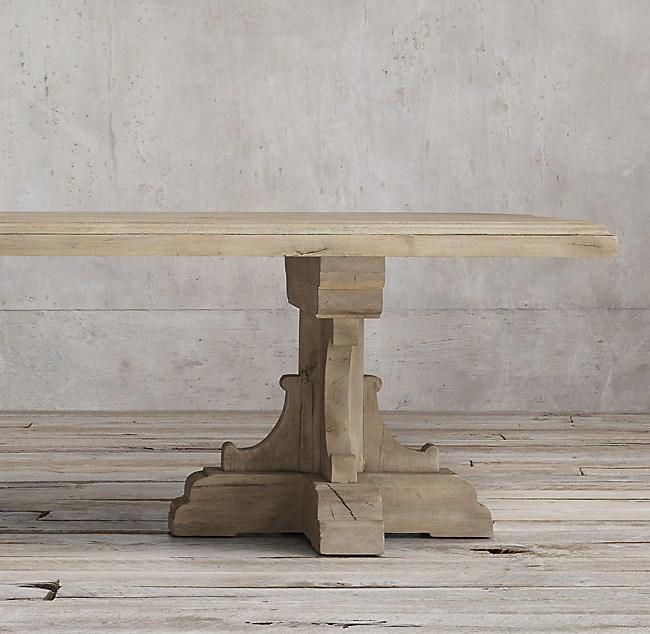 17th C French Bastide Oak Rectangular Dining Table