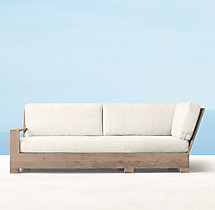 Belvedere Luxe Three-Seat Left/Right-Arm Return Sofa Cushions