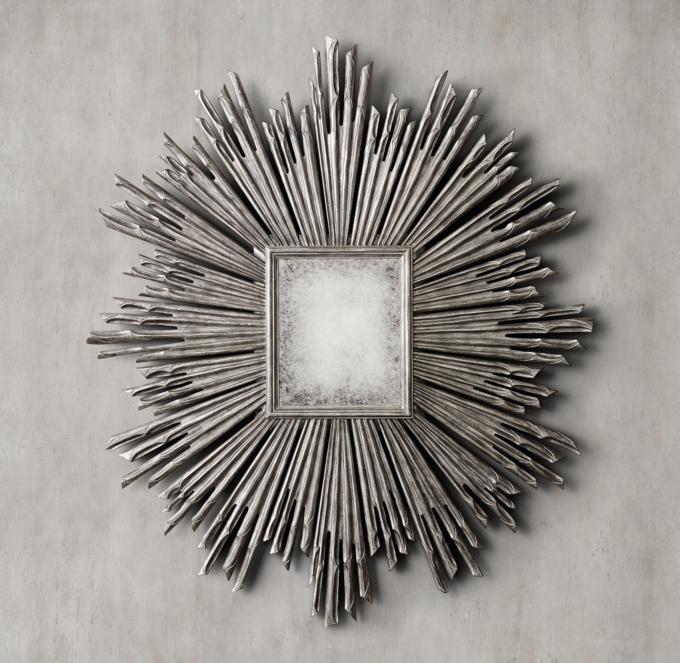17th C Sunburst Mirror
