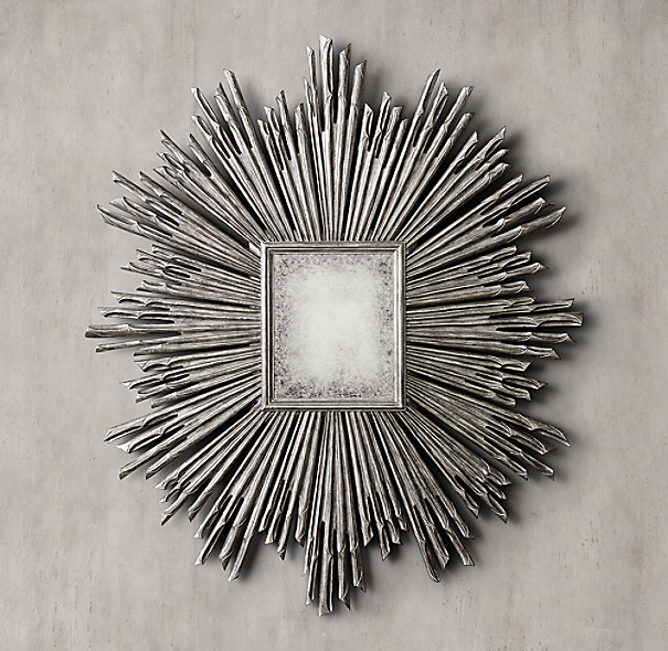 17th C Sunburst Mirror