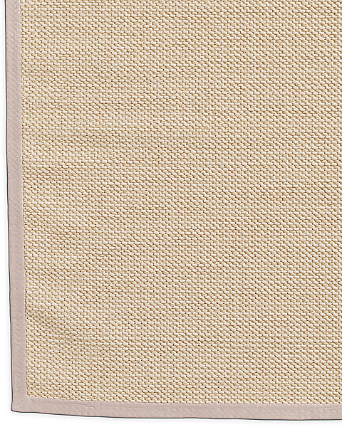 Belgian Textured Wool Sisal Rug Cream
