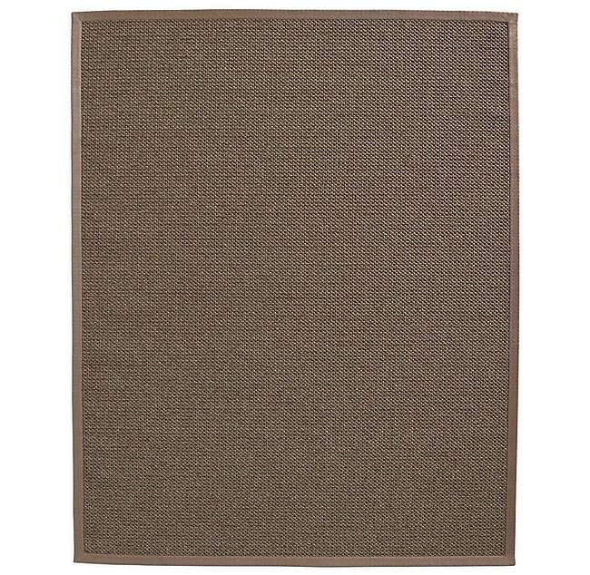 Belgian Textured Wool Sisal Rug Mocha