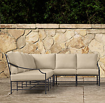 Carmel Luxe Left/Right-Arm L-Sectional Cushions