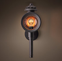 19th C. English Carriage House Sconce