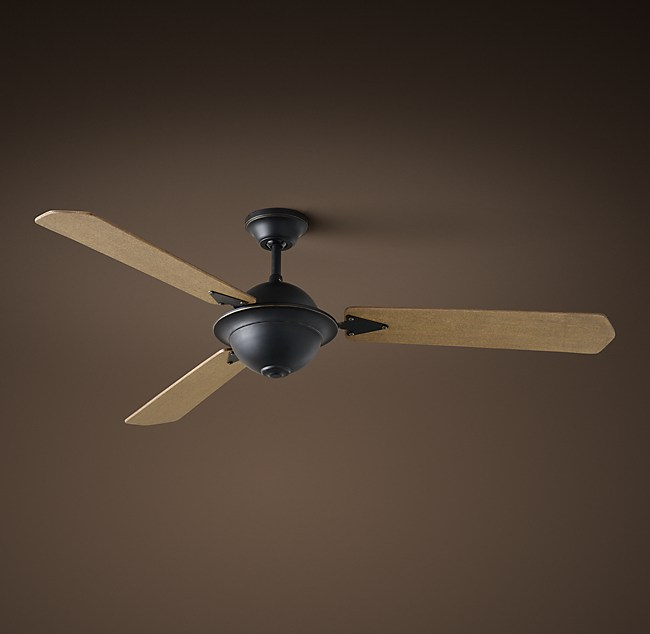 Atelier ceiling fan vintage black aloadofball Choice Image