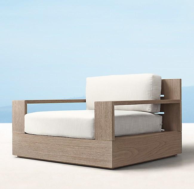 Marbella Teak Classic Lounge Chair