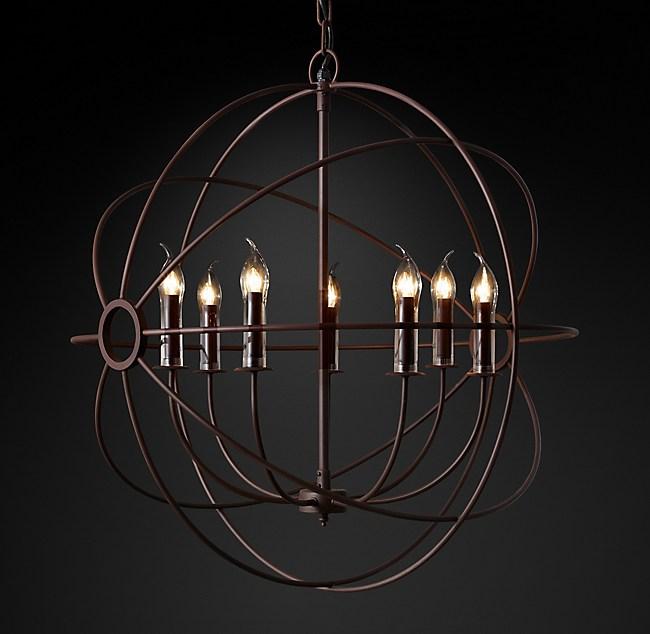 Foucaults orb outdoor chandelier 32