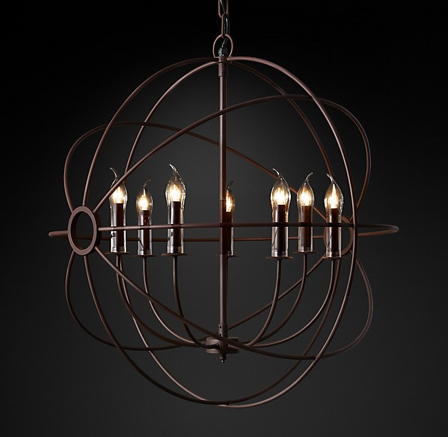 Foucaults orb outdoor chandelier 32