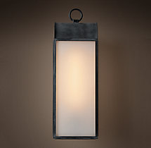 Belgravia Filament Milk Glass Sconce