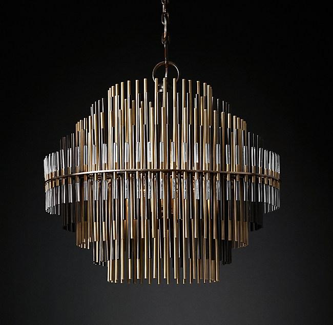 Emile chandelier collection rh modern
