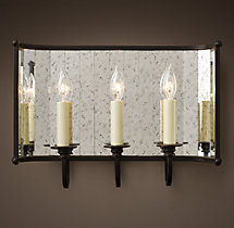 Paramount Mirrored Triple Sconce