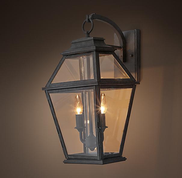 Restoration Hardware Festoon Lighting: Cambridge Sconce