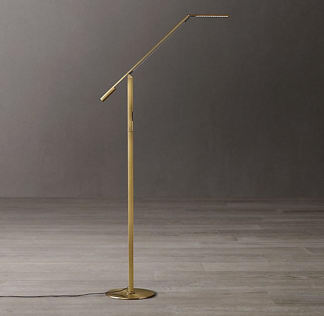 Equo Led Task Floor Lamp