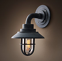 Starboard With Shade Sconce - Mini