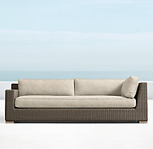 Biscayne Luxe Three-Seat Left-Arm Return Sofa
