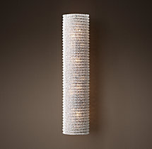Crystal Halo Sconce
